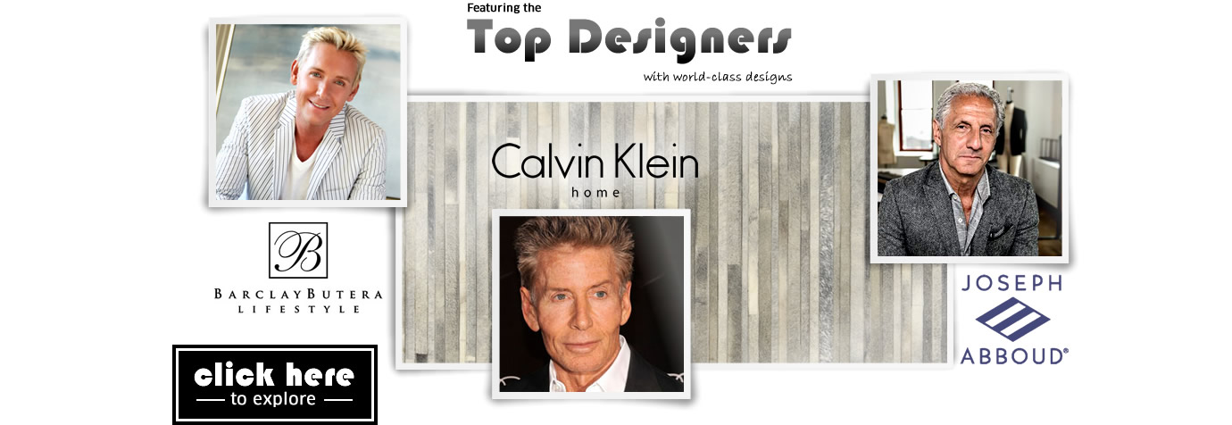 Featuring the top designers with world-class designs